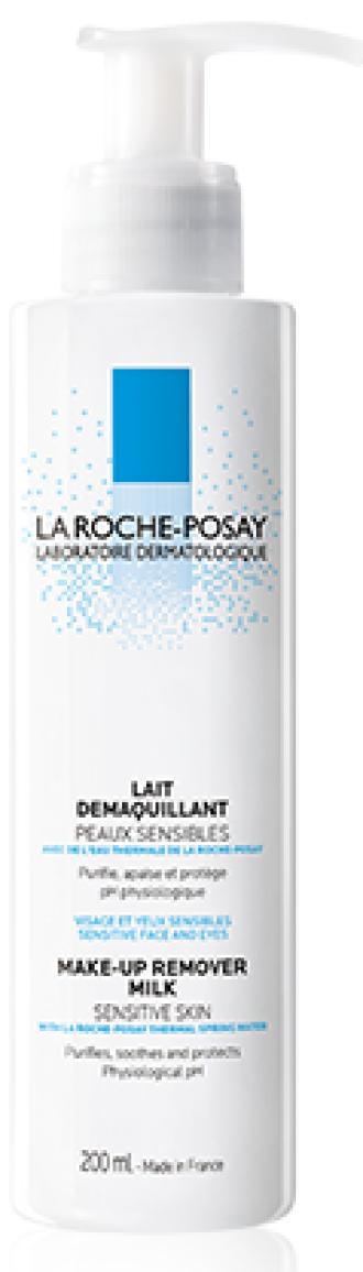 ЛА РОШ ПОЗЕ ПОЧИСТВАЩИ ПРОДУКТИ Дегримиращо мляко 200мл | LA ROCHE-POSAY CLEANING PRODUCTS Make-up remover milk 200ml