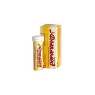 ФЛАВАМЕД 60мг. ефервесцентни таблетки 10бр. | FLAVAMED 60mg effervescent tablets 10s