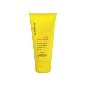 ГАЛЕНИК СОИН СОЛЕЙЛ Слънцезащитен крем за лице (лайт) SPF50 40мл | GALENIC SOINS SOLEIL Light facial cream SPF50 40ml
