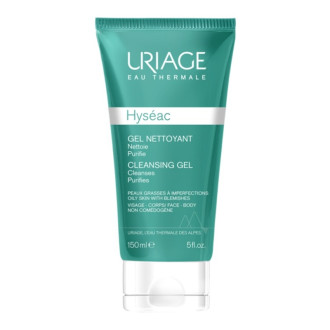 ЮРИАЖ ХИСЕАК Измиващ гел 150мл   URIAGE HYSEAC Cleansing gel 150ml
