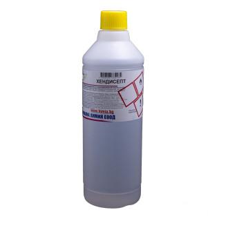 ХЕНДИСЕПТ  Алкохолен дезинфектант за повърхности и ръце 1л   HANDYSEPT Alcoholic disinfectant for surfaces and hands 1l