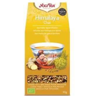 "ЙОГИ ОРГАНИК БИО Аюрведичен чай ""Хималая"", насипен 90гр | YOGI ORGANIC BIO Ayurvedic tea blend ""Himalaya"" loose 90g"