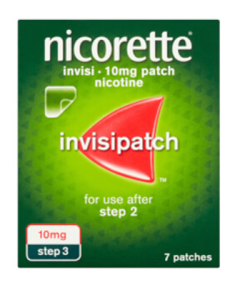 НИКОРЕТ ИНВИЗИПАЧ 10мг./15мг./25мг./16ч. пластир 7бр. | NICORETTE INVISIPATCH 10mg/15mg/25mg/16h patch 7pc