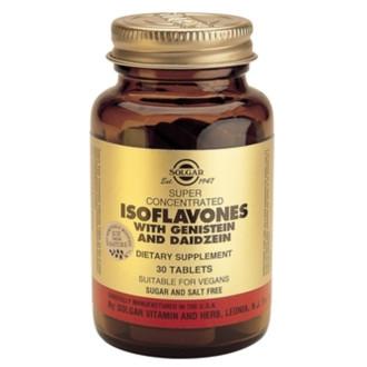 ИЗОФЛАВОНИ таблетки 30бр СОЛГАР | ISOFLAVONES tabs 30s SOLGAR