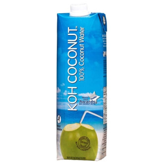 КОХ КОКОНЪТ Кокосова вода 250мл или 1л | KOH COCONUT Coconut water 250ml or 1l