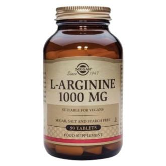 Л-АРГИНИН 1000мг таблетки 90бр. СОЛГАР | L-ARGININE 1000mg tabs 90s SOLGAR