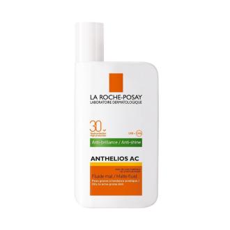 ЛА РОШ ПОЗЕ АНТЕЛИОС AC Слънцезащитен матиращ флуид SPF30 50мл | LA ROCHE-POSAY ANTHELIOS AC Anti-shine matte fluid SPF30 50ml