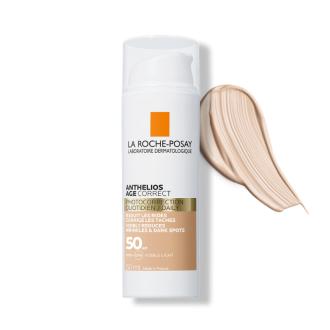 ЛА РОШ ПОЗЕ АНТЕЛИОС ЕЙДЖ КОРЕКТ CC Слънцезащитен крем за лице SPF50 x 50мл | LA ROCHE-POSAY ANTHELIOS AGE CORRECT Tinted CC face cream SPF50 x 50ml
