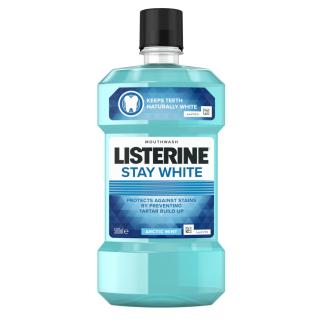 ЛИСТЕРИН Вода за уста СТЕЙ УАЙТ 250мл или 500мл | LISTERINE Mouthwash STAY WHITE 250ml or 500ml