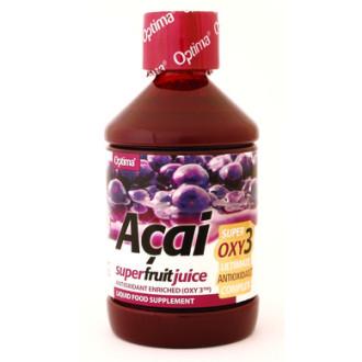 Сок от Акай ОПТИМА 500мл | Acai juice with Oxy3 OPTIMA 500ml