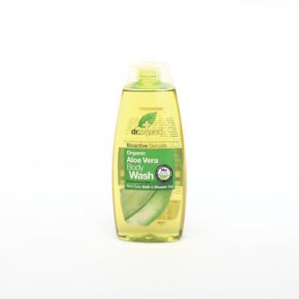 Д-Р ОРГАНИК Алое вера душ гел 250мл | DR ORGANIC Aloe vera body wash 250ml