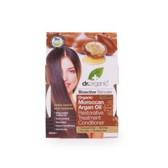 Д-Р ОРГАНИК Арганово масло маска за коса 200мл | DR ORGANIC Argan oil restorative treatment conditioner 200ml