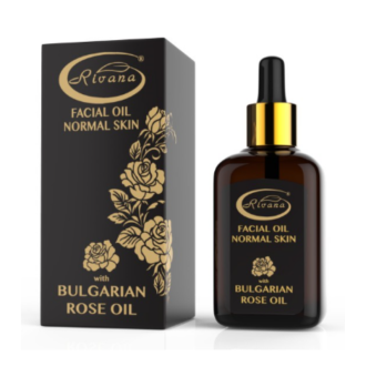 Масло за лице за нормална кожа с БЪЛГАРСКО РОЗОВО МАСЛО 30мл РИВАНА | Facial oil for normal skin with BULGARIAN ROSE OIL 30ml RIVANA