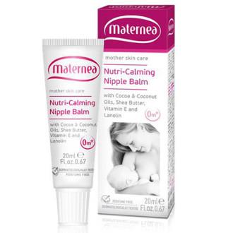 МАТЕРНЕА Успокояващ крем за зърна 20мл | MATERNEA Nutri-Calming Nipple Balm20ml