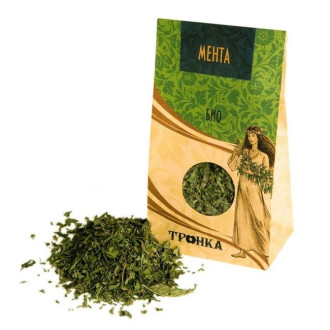 ЗДРАВОСЛОВЕН БИО Чай Мента ТРОНКА 40гр | ZDRAVOSLOVEN BIO Mint tea TRONKA 40g