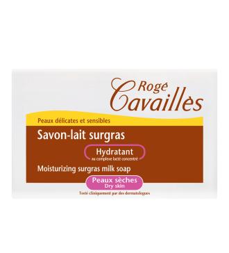 РОЖЕ КАВАЙЕ Хидратиращ млечен сапун 100гр | ROGE CAVAILLES Moisturizing surgras milk soap 100g