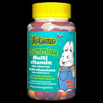 TREEHOUSE™ ГЪМИ Мултивитамини и минерали за деца 60бр. желирани таблетки УЕБЪР НАТУРАЛС   TREEHOUSE™ GUMMIES Multivitamins & Minerals for kids 60s gummies WEBBER NATURALS