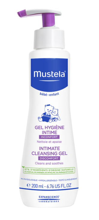 МУСТЕЛА Интимен гел за бебета и деца 200мл | MUSTELA Intimate Cleansing Gel for Babies and Children 200ml