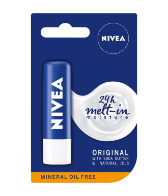 НИВЕА ОРИДЖИНАЛ Балсам за устни 4.8гр   NIVEA ORIGINAL Lip balm 4.8g