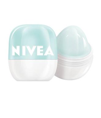 НИВЕА ПОП БОЛ Балсам за устни Свежа мента 7гр | NIVEA POP-BALL Lip balm Fresh mint 7g