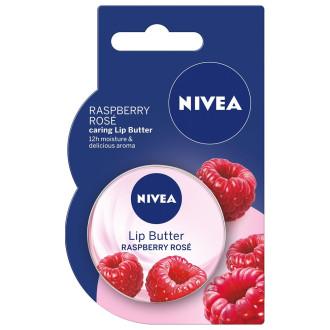 НИВЕА Масло за устни Малина 16,7гр   NIVEA Lip Butter Raspberry 16,7g