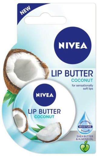 НИВЕА Масло за устни Кокос 16,7гр   NIVEA Lip Butter Coconut 16,7g