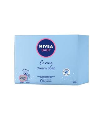 НИВЕА БЕБЕ Нежен подхранващ крем сапун 100гр | NIVEA BABY Tenderly caring cream soap 100g