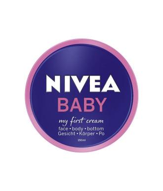 НИВЕА БЕБЕ Моят първи крем 150мл | NIVEA BABY My first cream 150ml