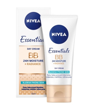 НИВЕА BB крем за проблемна кожа 50мл | NIVEA BB cream 5in1 beautifying moisturizer 50ml