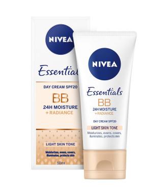 НИВЕА BB крем за лице светъл тон 50мл | NIVEA BB cream 5in1 beautifying moisturizer light 50ml