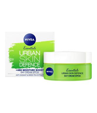 НИВЕА УРБАН ДЕТОКС Дневен крем за защита на кожата SPF20 50мл | NIVEA URBAN DETOX Day cream for skin defence SPF20 50ml