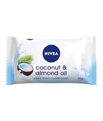 НИВЕА КОКОС & БАДЕМОВО МАСЛО Сапун 90гр | NIVEA COCONUT & ALMOND OIL Flowpack soap 90g