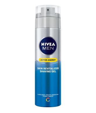 НИВЕА МЕН АКТИВ ЕНЕРДЖИ Гел за бръснене 200мл | NIVEA MEN ACTIVE ENERGY Shaving gel 200ml