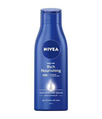 НИВЕА РИЧ НУРИШИНГ Подхранващо мляко за тяло 250мл | NIVEA RICH NOURISHING Body milk 250ml