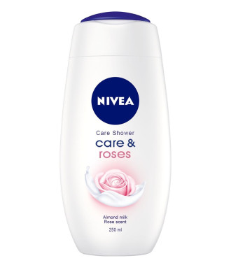 НИВЕА КЕЪР & РОУЗЕС Душ гел 250мл | NIVEA CARE & ROSES Shower gel 250ml