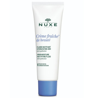 НУКС КРЕМ ФРЕШ ДЕ БЮТИ Флуид 50мл | NUXE CREME FRAICHE DE BEAUTE Light moisturizer cream 50ml