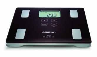 ОМРОН Везна и уред за измерване на мастни натрупвания BF214 | OMRON Body comp monitor BF214
