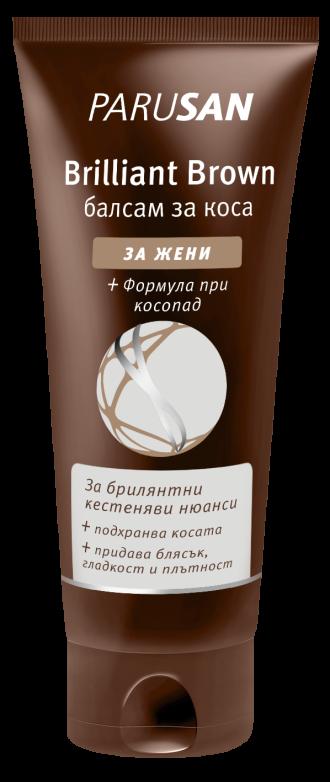 ПАРУСАН БРИЛЯНТ БРАУН Балсам за кестенява коса 150мл. | PARUSAN BRILLIANT BROWN Hair conditioner 150ml