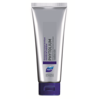 ФИТО ФИТОЛИУМ Енергизиращ шампоан против обилен и постоянен косопад 125мл | PHYTO PHYTOLIUM Strengthening treatment shampoo for thinning hair 125ml
