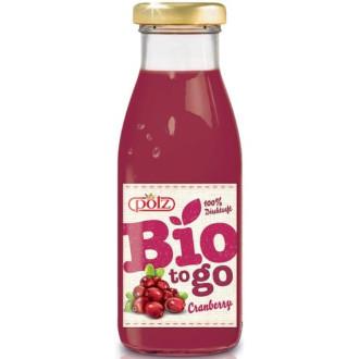 ПОЛЗ БИО Плодова напитка Червена боровинка 250мл   POLZ BIO To go Cranberry 250ml