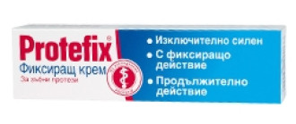 ПРОТЕФИКС ЕКСТРА СТРОНГ Фиксиращ крем за зъбни протези 40мл КУАЙСЕР ФАРМА | PROTEFIX EXTRA STRONG Fixing cream for dentures 40ml QUEISSER PHARMA