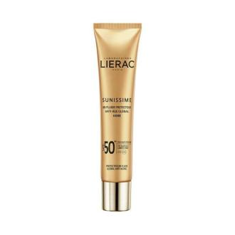 ЛИЕРАК СЪНИСИМ Слънцезащитен ВВ флуид за лице SPF50 40мл | LIERAC SUNISSIME Protective BB fluid global anti-aging SPF50 40ml