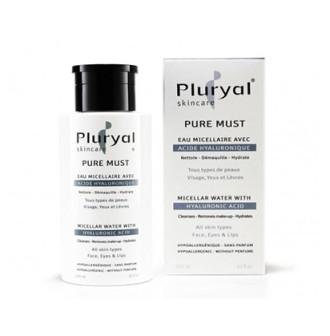ПЛУРИАЛ Мицеларна вода с хиалуронова киселина 300мл | PLURYAL Pure must Micellar Water 300ml