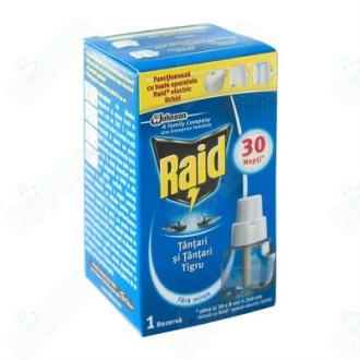 РАЙД ЕЛЕКТРИЧЕСКИ ПЪЛНИТЕЛ Против комари 21мл. | RAID ELECTRIC FILLER (Anti mosquitos) 21ml
