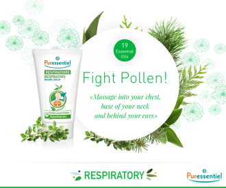 ПЮРЕСЕНШЪЛ Респираторен балсам с 19 етерични масла 50мл | PURESSENTIEL Respiratory Balm with 19 essential oils 50ml