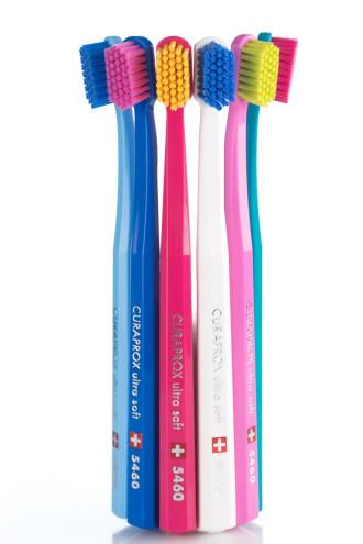 КУРАПРОКС Четка за зъби 5460 ултра софт 3бр. блистер | CURAPROX Toothbrush 5460 ultra soft set of 3s