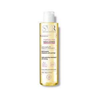 СВР ТОПИАЛИЗЕ Почистващо мицеларно душ-олио за суха и атопична кожа 200мл | SVR TOPIALYSE Huile lavante micellaire 200ml