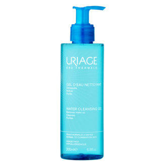 ЮРИАЖ Термален почистващ гел за лице 200мл | URIAGE Water cleansing gel 200ml