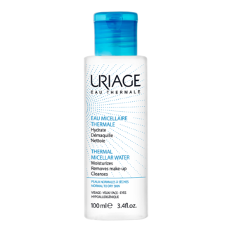 ЮРИАЖ Термална мицеларна вода за нормална към суха кожа 100мл | URIAGE Thermal micellar water for normal to dry skin 100ml