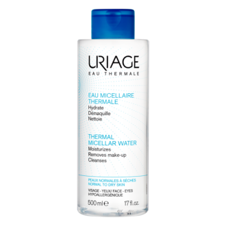 ЮРИАЖ Термална мицеларна вода за нормална към суха кожа 500мл | URIAGE Thermal micellar water for normal to dry skin 500ml